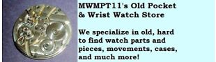 MWMPT11's Pocket Wrist Watch Parts