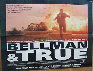 Bernard-Hill-BELLMAN-AND-TRUE-1987-Original-poster