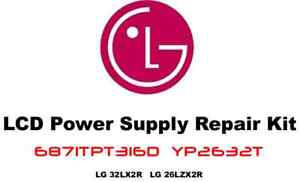 LG-Power-Supply-Repair-Kit-6871TPT316D-YP2632T