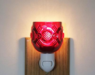 Avon Cape Cod RUBY RED CORDIAL CUSTOM  NIGHT LIGHT