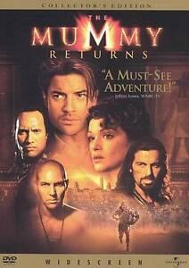 The Mummy Returns (2011 DVD; Collector's Edition - Widescreen) Brendan Fraser