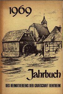 Bentheimer Jahrbuch  1969 Grafschaft Bentheim Band 65
