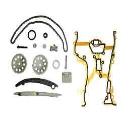 Vauxhall Agila Meriva Corsa C 1.0 1.2 Z10XE Z12XE Full Timing Chain Kit 93191271