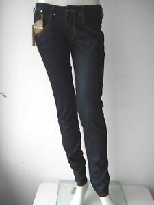 diesel damen hose pants jeans clush neu blau stretch 28 ebay. Black Bedroom Furniture Sets. Home Design Ideas