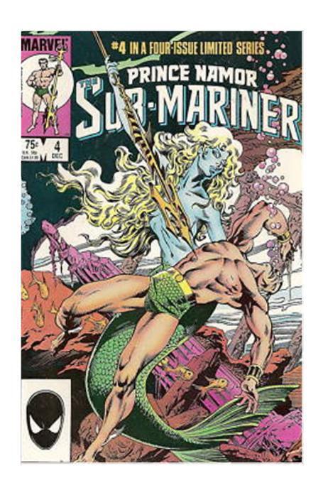 Image result for prince namor 1982 comic