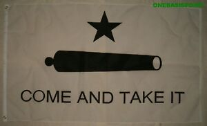 3x5-COME-AND-TAKE-IT-BATTLE-OF-GONZALES-FLAG-CANNON-TEXAS-REBELS-USA-WAR-3X5