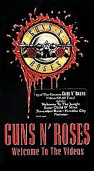 Guns N' Roses - Welcome to the Videos (1998) $1.99 VHS NEW! SEALED!