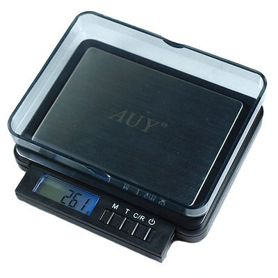 Portable Digital Jewelry Scale 0.1g x 2000g / 0.05g x 1000g Dual Accuracy CRH-2
