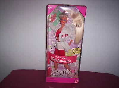 1997 Barbie March Of Dimes Walk America Kmart Spec. Ed.