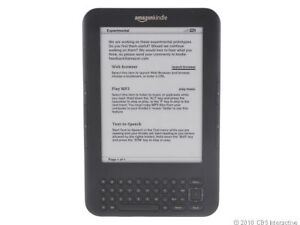 Amazon Kindle Keyboard 4GB Wi-Fi 6 Graph...