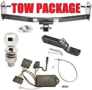 2004-2011 CHEVY COLORADO COMPLETE TRAILER HITCH PACKAGE