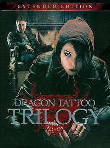 Girl With the Dragon Tattoo Trilogy Extended Edition DVD Region 1