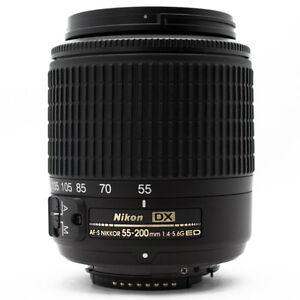 Nikon Zoom-Nikkor 55-200 mm F/4-5.6 G ED AF-S DX Objektiv