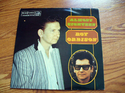Roy Orbison Almost Eighteen Bear Family Lp