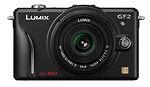 Panasonic LUMIX DMC-GF2K 12.1 MP Digital Camera - Black (Kit w/ 14-42mm / F3.5-5.6 Lens)