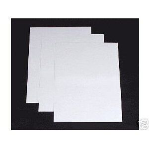 25 A4 sheets cream ivory white linen hammer smooth card