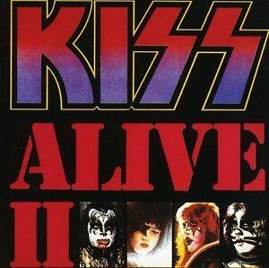 alive ii by kiss cd 1989 2 discs mercury records heavy metal music 42282278128 ebay. Black Bedroom Furniture Sets. Home Design Ideas
