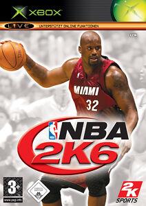 XBOX Spiel NBA 2K6 mit Anleitung guter Zustand + OVP