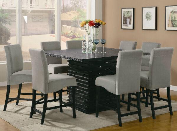 Coaster Stanton 9-piece Counter Height Dining Set