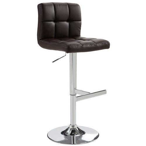 Sunpan Modern Rockwell Faux Leather Modern Barstool