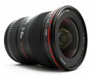 100% New .  Genuine .  Canon EF 17-40mm f/4L USM Retail Pack  + Warranty 13803028058