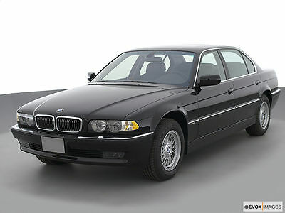 2001 bmw 740i m sport package black on black last year e38. Black Bedroom Furniture Sets. Home Design Ideas