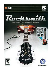 rocksmith guitar bass pc video game with tone cable box shopworn excellent ebay. Black Bedroom Furniture Sets. Home Design Ideas