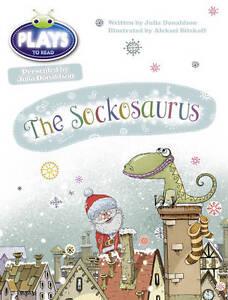 Donaldson, Julia-Bc Jd Plays Blue (Ks1)/1B The Sockosaurus  BOOK NEW
