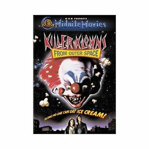 Killer Klowns from Outer Space (Midnite Movies) [DVD] (2001) *New DVD*