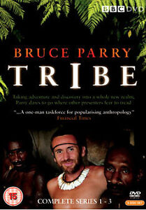 BRUCE PARRY Tribe - Series 1 2 3 (DVD 6-Disc Set) NEW AND SEALED REGION 2