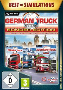 German Truck Simulator - Sonder Edition (PC, 2012, DVD-Box) - <span itemprop='availableAtOrFrom'>Langau bei Gaming, Österreich</span> - German Truck Simulator - Sonder Edition (PC, 2012, DVD-Box) - Langau bei Gaming, Österreich