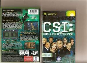 CSI-Crime-Scene-Investigation-ORIGINAL-XBOX-GAME-Inc-Manual-UK-PAL