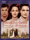 The Twilight Saga: Breaking Dawn - Part 1 (Blu-ray Disc, 2012, Canadian)