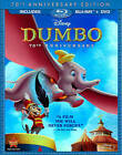 Dumbo (Blu-ray/DVD, 2011, 2-Disc Set, 70th Anniversary Edition)