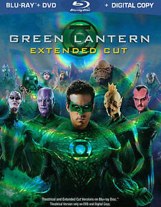 Green Lantern (Blu-ray/DVD, 2011, 2-Disc...