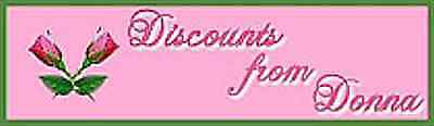 Discounts*from*Donna