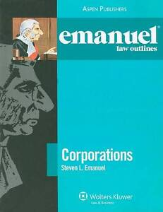 Corporations by Steven L Emanuel (Mixed ...
