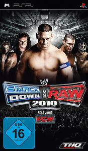 WWE SmackDown vs. Raw 2010 (Sony PSP, 2009) - <span itemprop=availableAtOrFrom>Lehrte, Deutschland</span> - WWE SmackDown vs. Raw 2010 (Sony PSP, 2009) - Lehrte, Deutschland