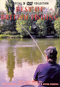 Best Of British Fishing (DVD, 2004, 3-Disc Set, Box Set)new sealed