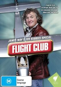 James May's Toy Stories Special - Flight Club (DVD, 2013) New Region All