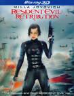 Resident Evil: Retribution (Blu-ray Disc, 2012, 2-Disc Set, Includes Digital Copy; UltraViolet; 3D)