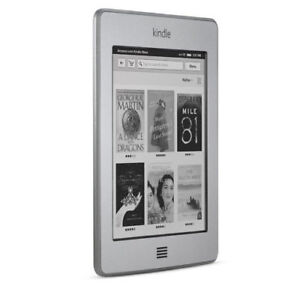 Amazon Kindle Touch 4GB Wi-Fi 6 Silver
