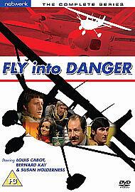 Fly Into Danger DVD Complete Series (UK R2/NEW) Louis Cabot, Bernard Kay