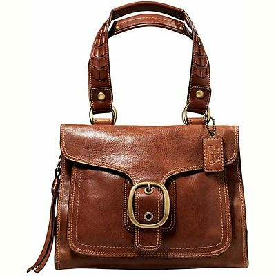coach bags on sale outlet ogvj  Real Coach leather It looks thick, has nice patina and holds it's shape  well