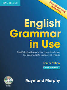 Cambridge ENGLISH GRAMMAR IN USE with Answers & CD ROM FOURTH Ed R Murphy @NEW@