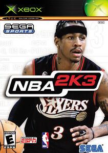 NBA 2K3 - Microsoft Xbox - DVD-Box - ungespielt wie NEU mit Anleitung