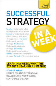 Succssful Strategy (Teach Yourself in a Week)-ExLibrary