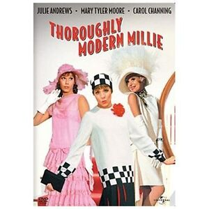 Thoroughly Modern Millie - Julie Andrews, Carol Channing - Mary Tyler Moore DVD - $6.98