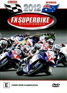 2012: Australian FX-Superbike Championship  - DVD - NEW Region 4