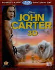 John Carter (Blu-ray/DVD, 2012, 4-Disc Set, Includes Digital Copy; 3D/2D)
